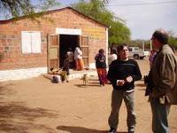 Luis Pinto junto al pastor Leotir
